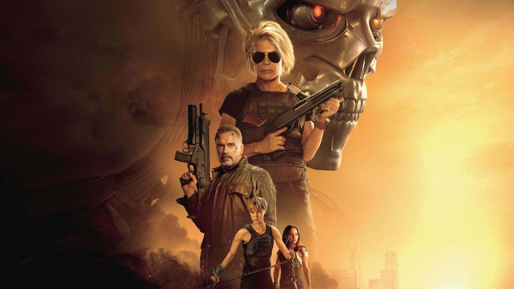 31октября нанаши экраны вышел «Терминатор: Темные cудьбы» (Terminator: Dark Fate), шестой фильм знаменитой франшизы, который игнорирует предыдущиетри. Онпытается (как и«Генезис» нетак давно) продолжить события оригинальной дилогии, притворяясь что события «Восстания машин», «Дапридет спаситель» исамого «Генезиса» никогда непроисходили.