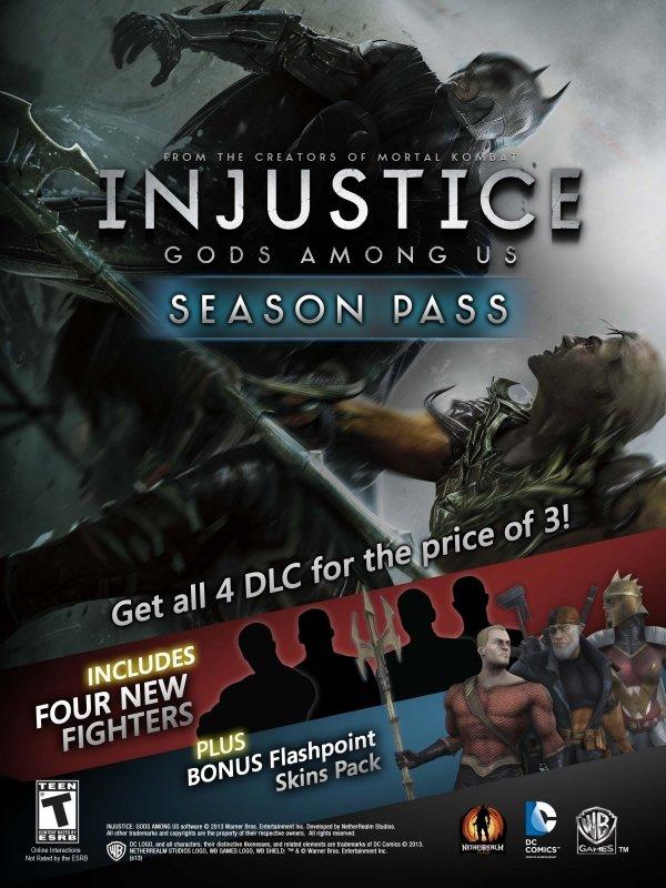 Анонсирован Season Pass для Injustice: Gods Among Us