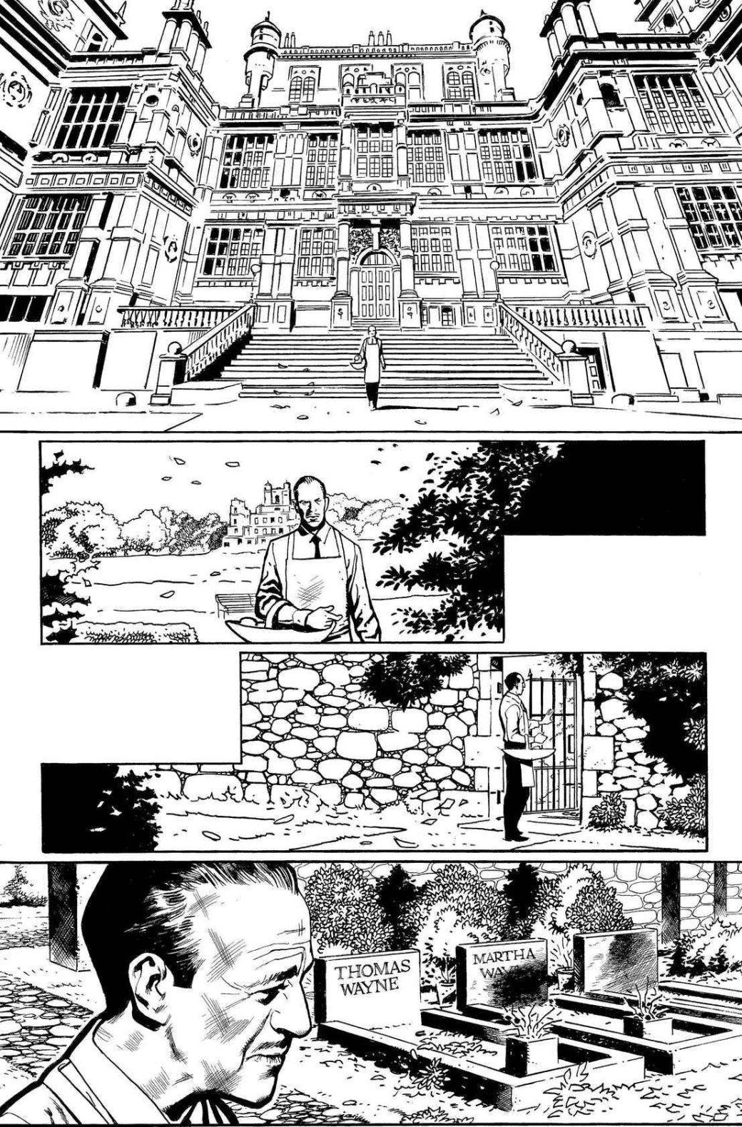 DCвыпустит комикс острахе Альфреда, что Брюс Уэйн займет место возле родителей
