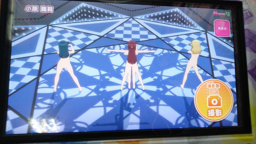 Бака хентай! Из-за бага в японской ритм-игре по аниме Love Live! все персонажи стали голыми