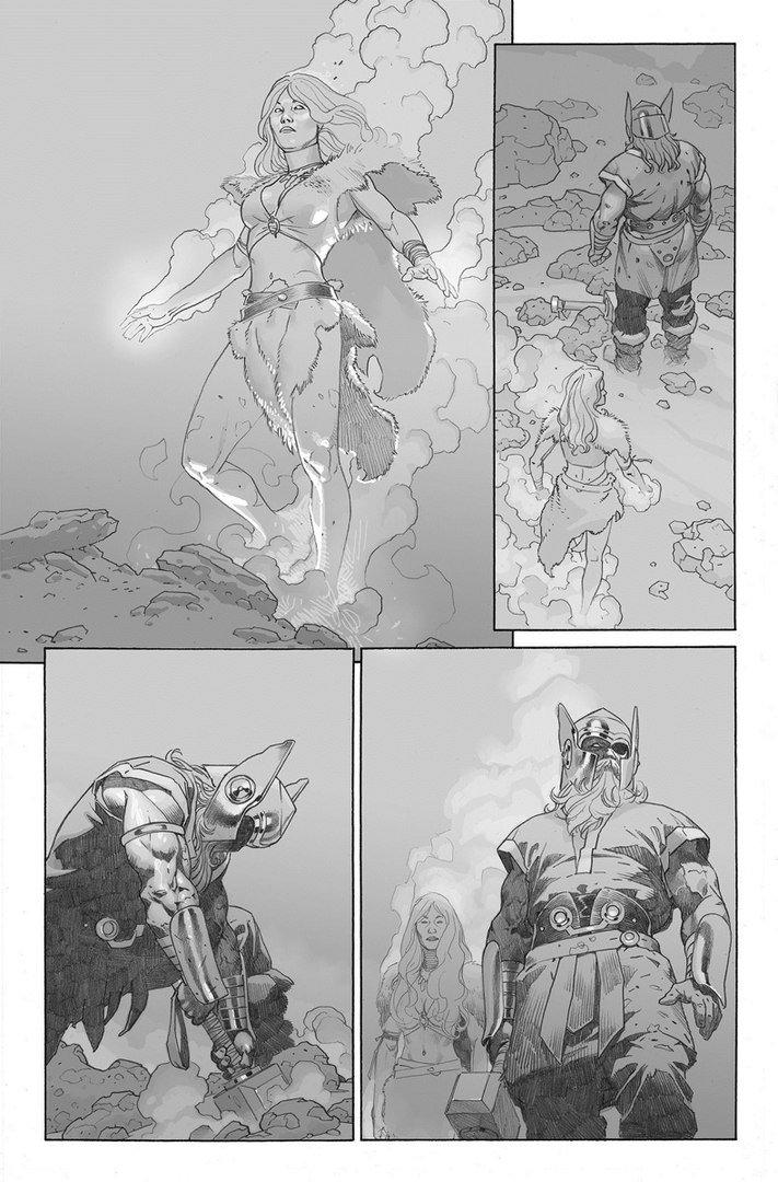 Первый взгляд надоисторических Мстителей: Один, Феникс и все-все-все