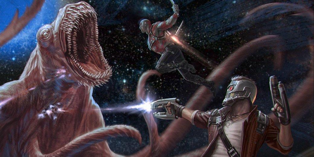 Не выключайте проектор! У «Стражей Галактики 2» пять сцен в титрах