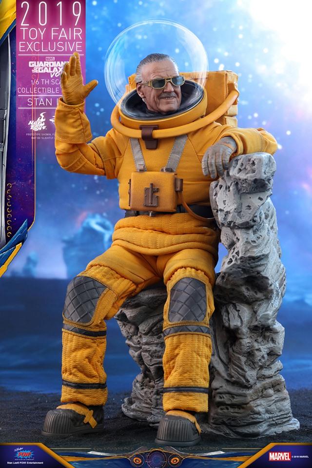 Hot Toys выпустит экшен-фигурку Стэна Ли из «Стражей галактики 2». Она выглядит потрясающе!