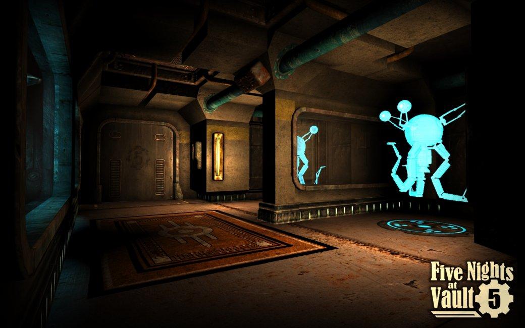 Мод для Fallout: New Vegas добавил вигру Убежище встиле Five Nights at Freddy's