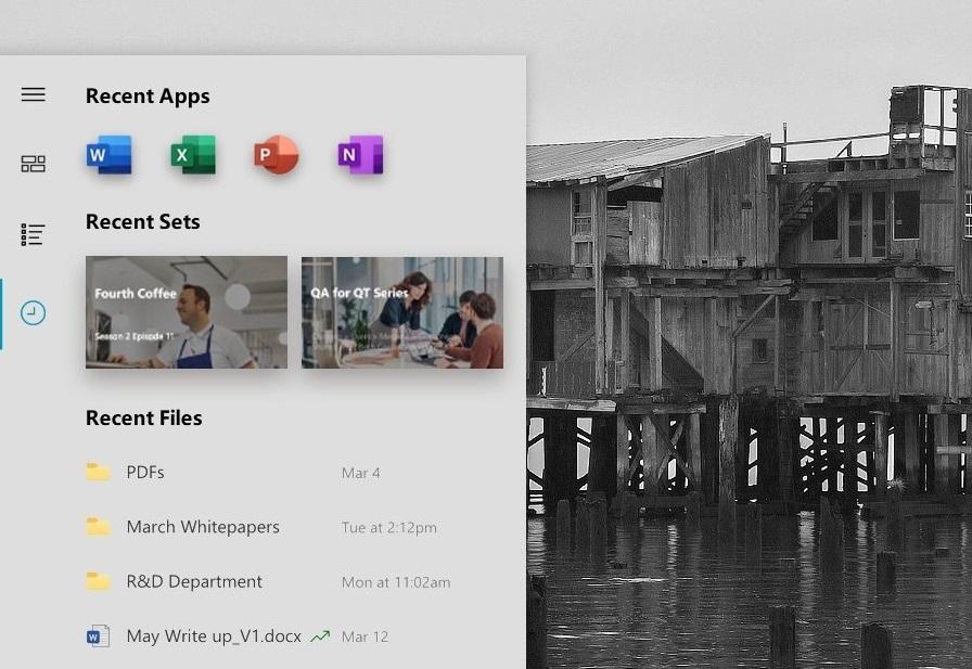 Меню «Пуск» вWindows 10поменяет дизайн. Это возможный вариант после обновления