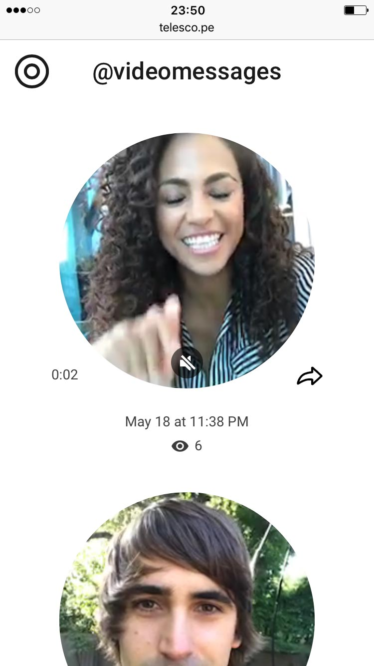 ВTelegram теперь можно отправлять видеосообщения (ноони круглые)