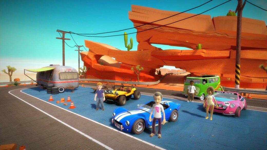 Гонки Joy Ride отказались от поддержки Kinect