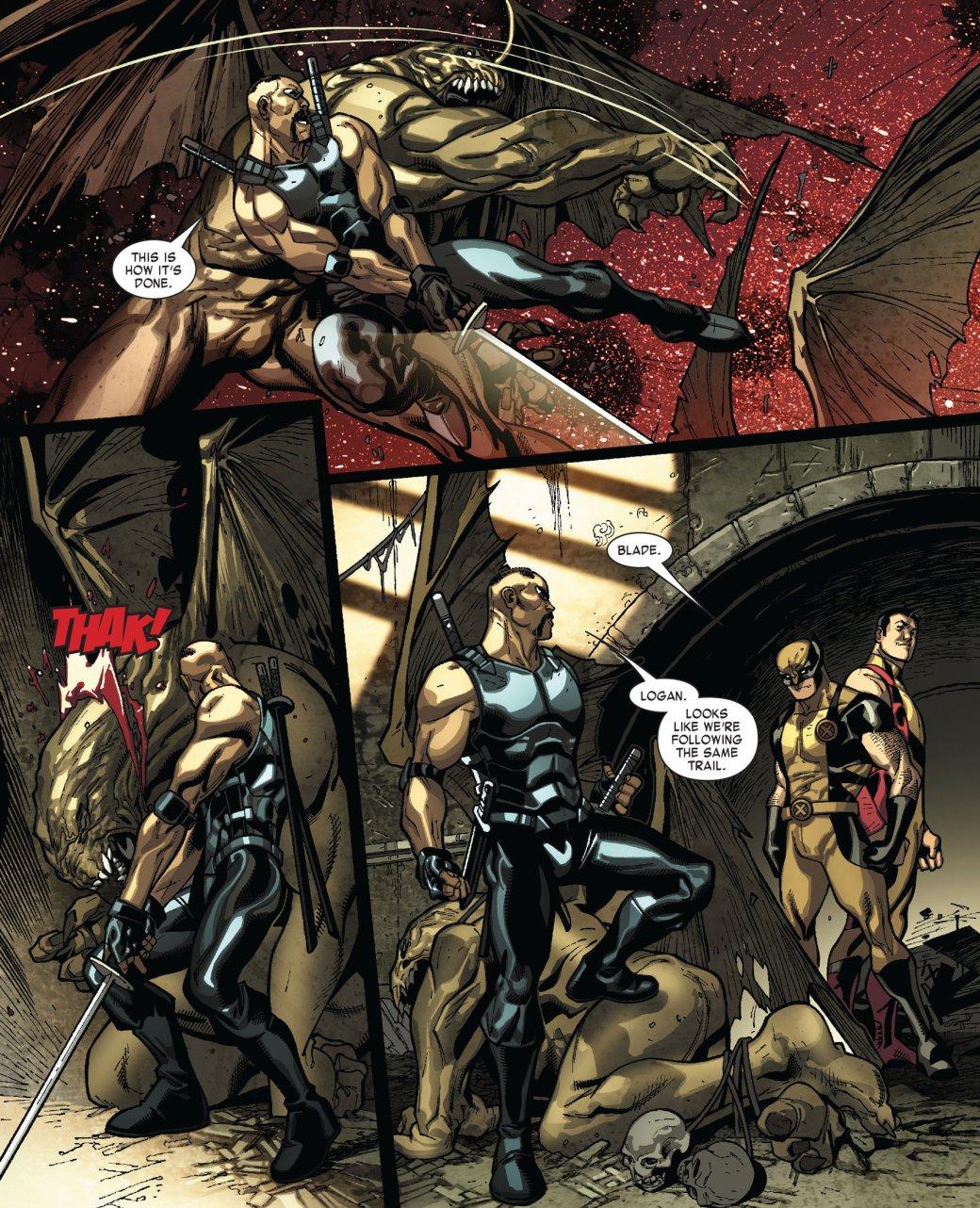 Кто такой Блэйд? Отохотника навампиров дочлена Мстителей исоюзника Людей Икс