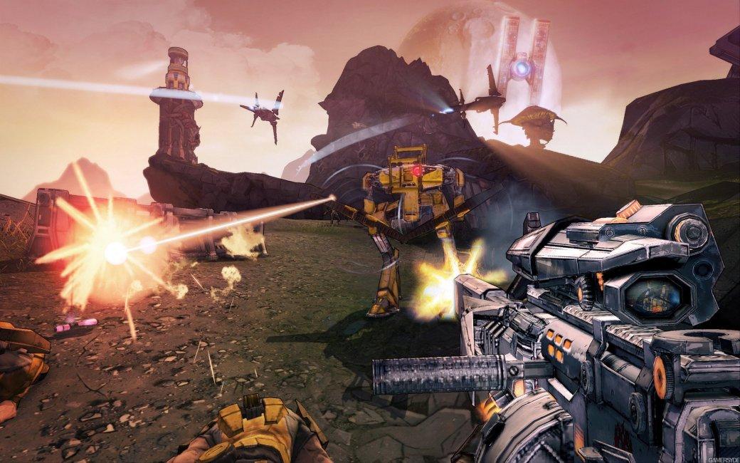 E3: Кадры Borderlands 2