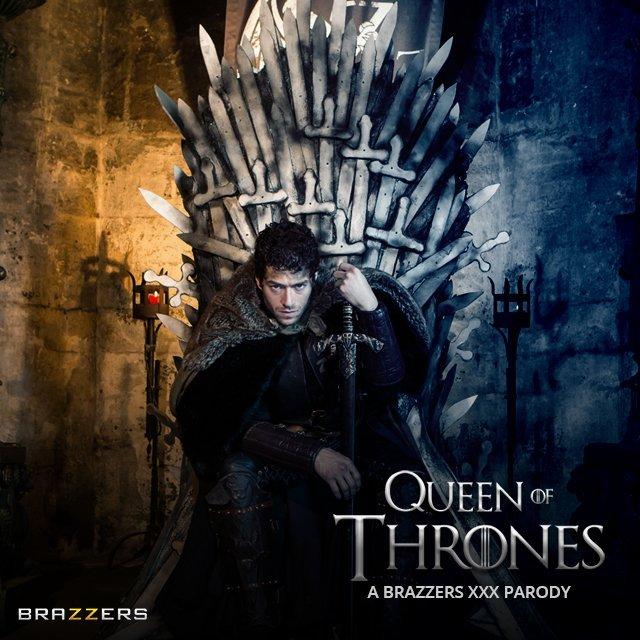 Джон Сноу наказывает королеву Серсею вновом порно по«Игре престолов»
