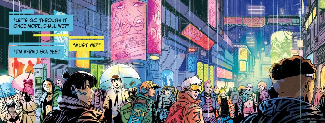 Каким получился первый выпуск комикса Cyberpunk 2077: Trauma Team