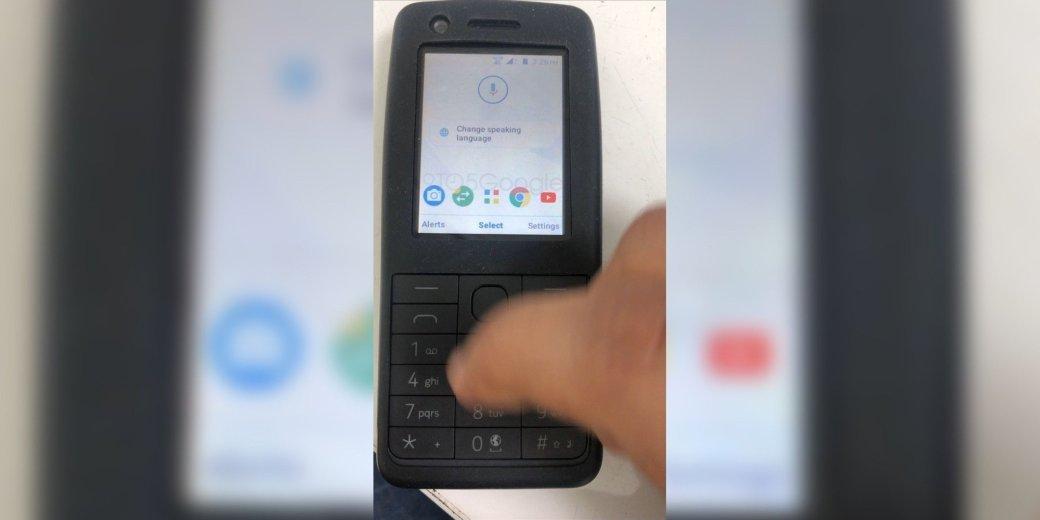 Опубликовано «живое» фото кнопочного телефона Nokia на Android