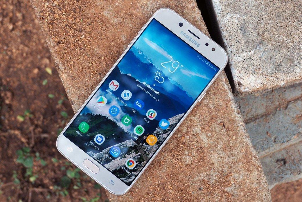 Samsung Galaxy J7Pro получил обновление доAndroid9 Pie