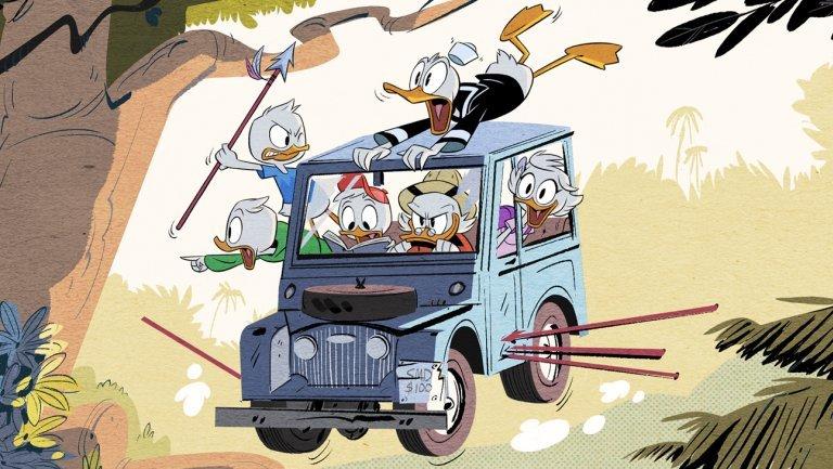 5 лучших мультсериалов Disney