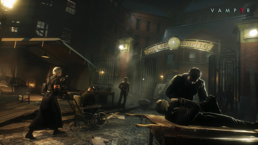 E3 2017: очень пронзительный и кинематографичный трейлер RPG Vampyr