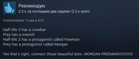 Игра года или полный провал? Первые отзывы пользователей Steam наPrey