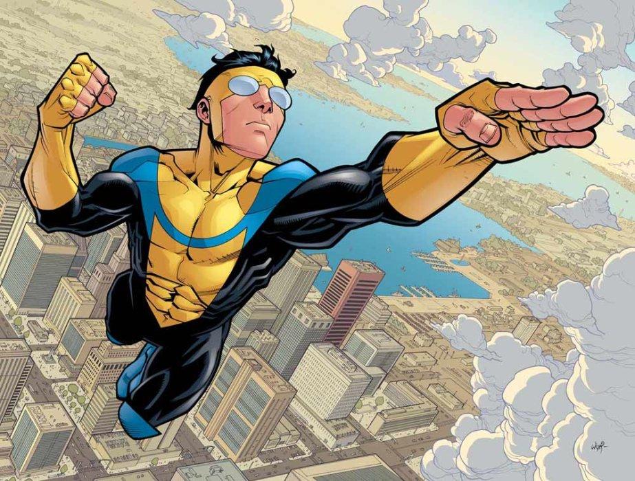 14февраля вышел последний, сто сорок четвертый номер серии Invincible, известной вРоссии как «Неуязвимый». Это популярный наЗападе комикс вжанре супергероики отсоздателя «Ходячих мертвецов» Роберта Киркмана, имногие называют эту историю «лучшим супергеройским комиксом». Вэтом материале мырасскажем, стоитли еечитать.