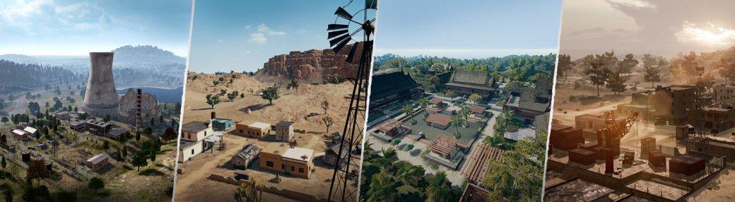 В PUBG появится еще одна пустынная карта