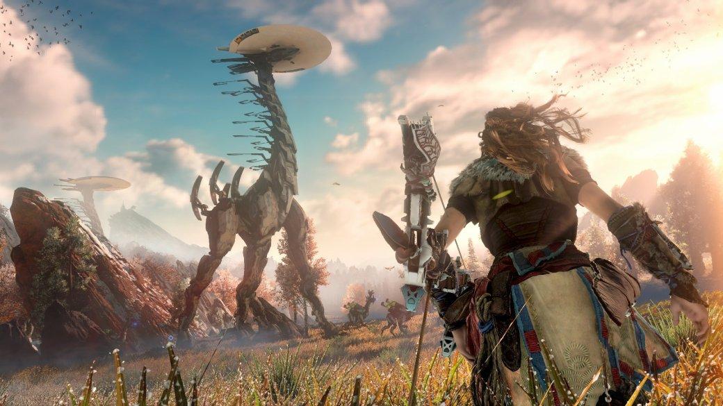 Horizon: Zero Dawn обогнала Zelda: Breath ofthe Wild впродажах