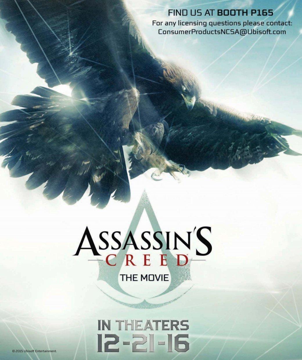 Первый постер фильма по Assassin's Creed: Фассбендер играет орла?