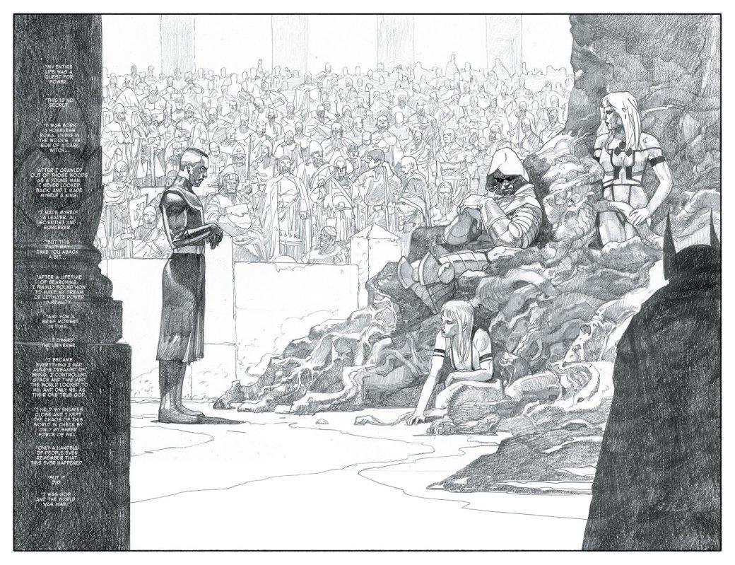 Почему комикс оДокторе Думе-герое— один изсамых смелых экспериментов Marvel последних лет