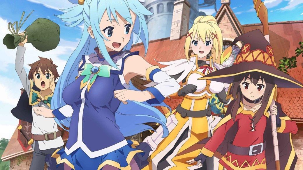 В 2019 году выйдет аниме-сериал с героями KonoSuba, Re:Zero и других тайтлов