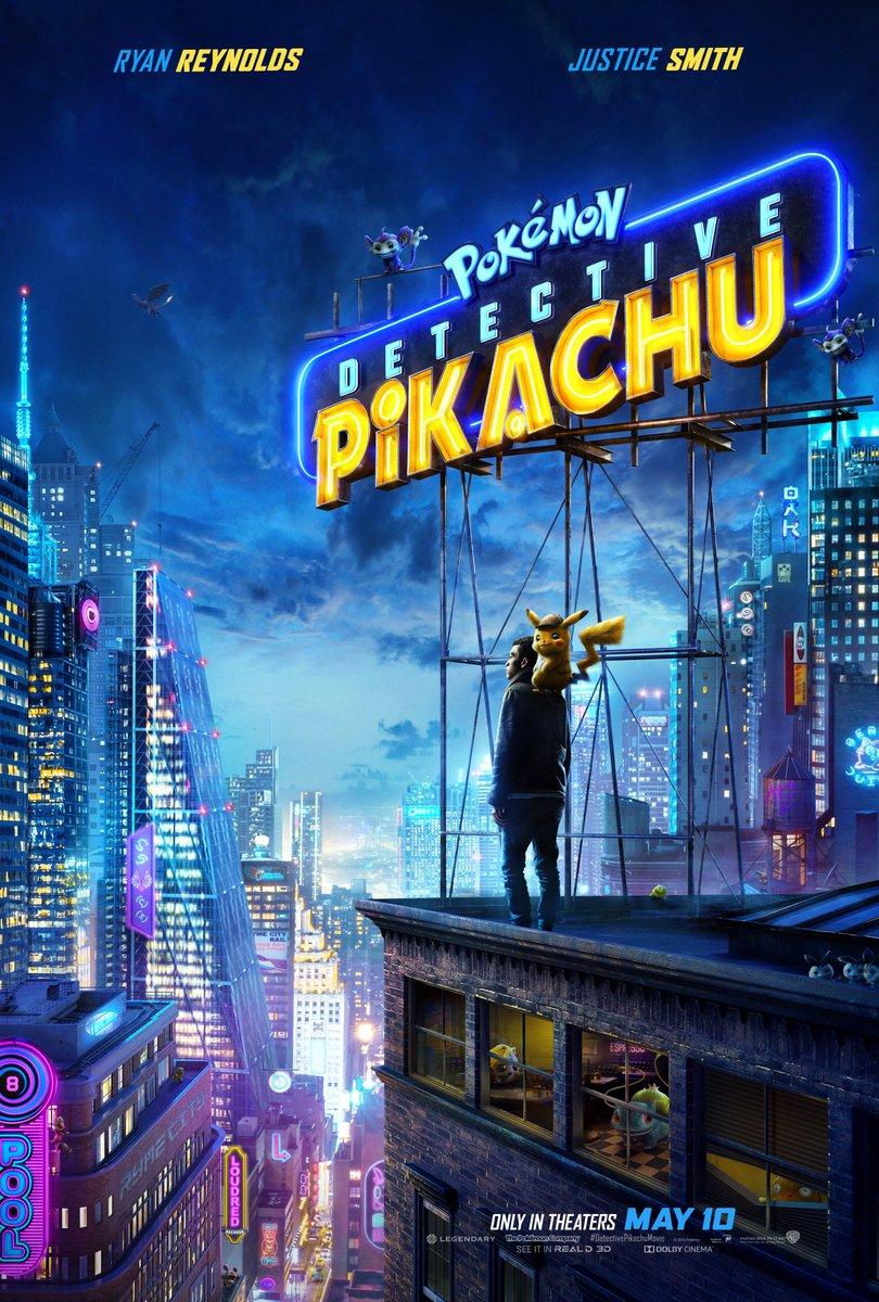 Покемоны налюбой вкус имного экшена вновом трейлере «Детектива Пикачу»