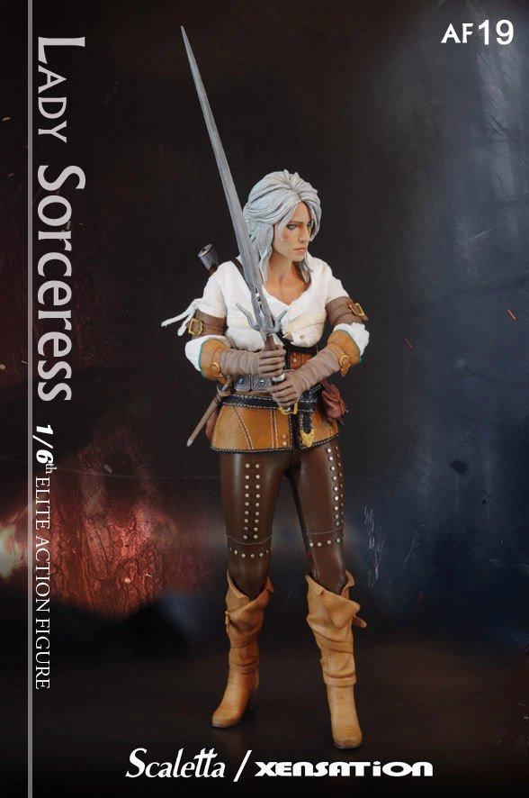 Отличная фигурка ведьмачки Цири из The Witcher 3: Wild Hunt