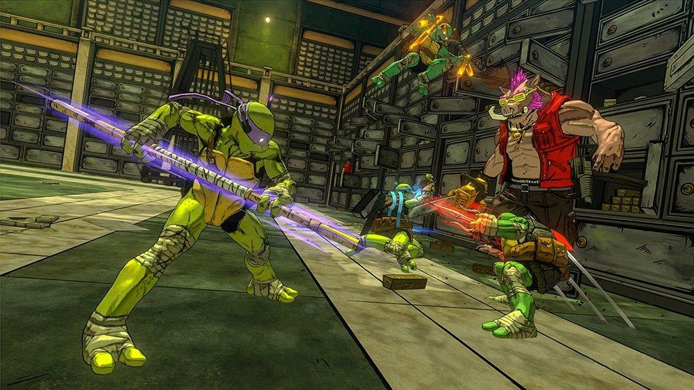 В Сеть утекли скриншоты TMNT: Mutants in Manhattan от Platinum Games