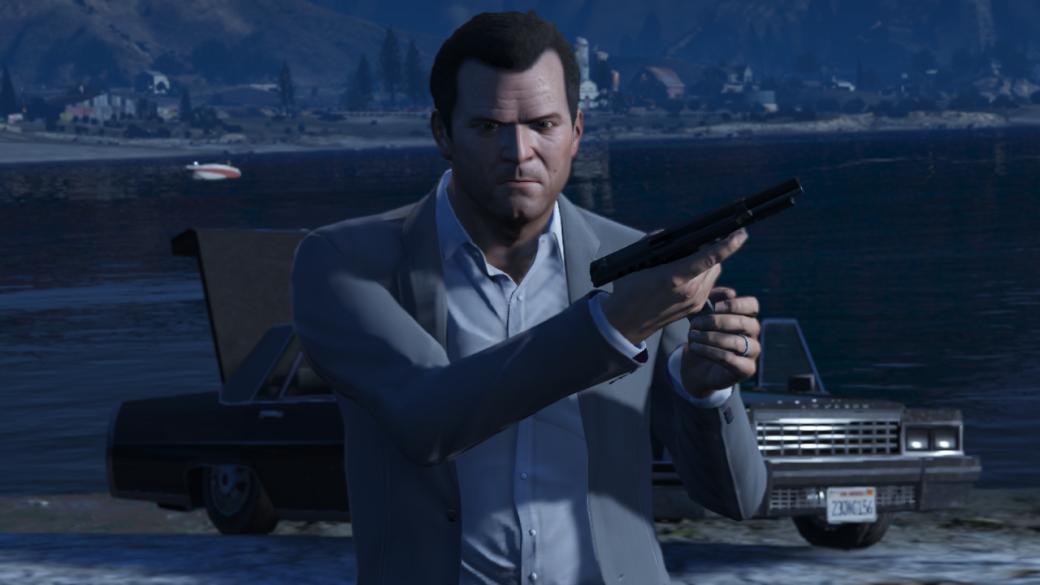 Гифка дня: медленное погружение вбезумие вGrand Theft Auto5