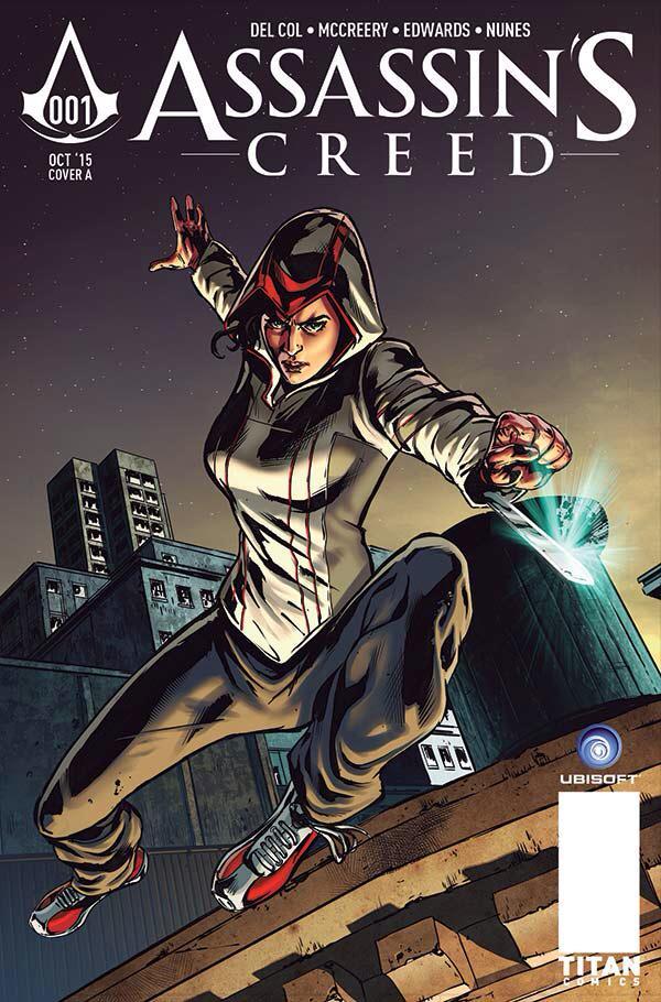 Комикс по Assassin's Creed представит новую героиню