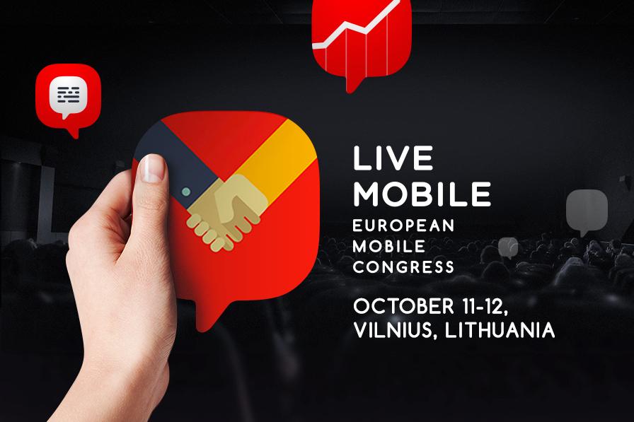В Вильнюсе началась конференция Live Mobile Congress