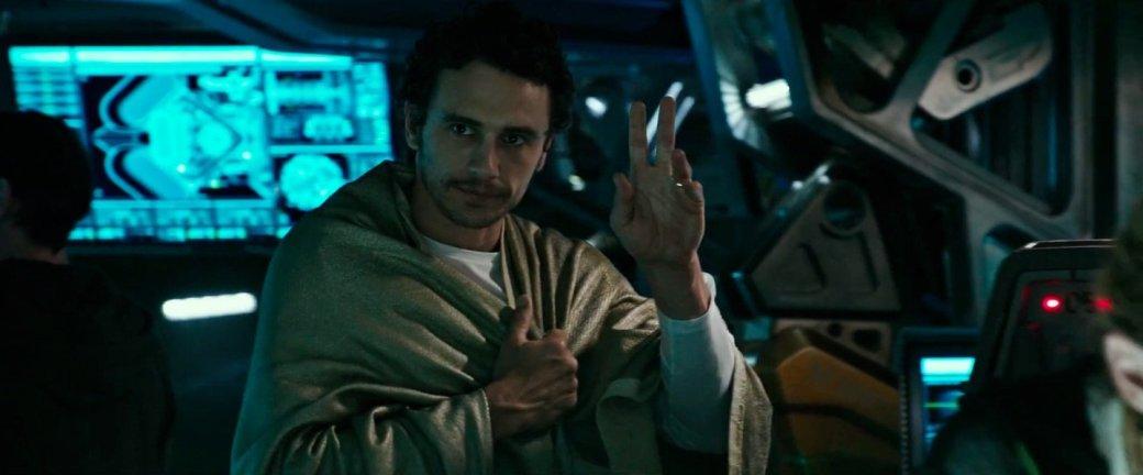Почему в «Чужой: Завет» так мало Джеймса Франко? Он мог всех спасти!