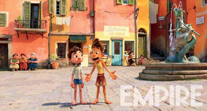 Примесь Миядзаки, дань уважения Феллини: появился новый кадр измультфильма «Лука» отPixar