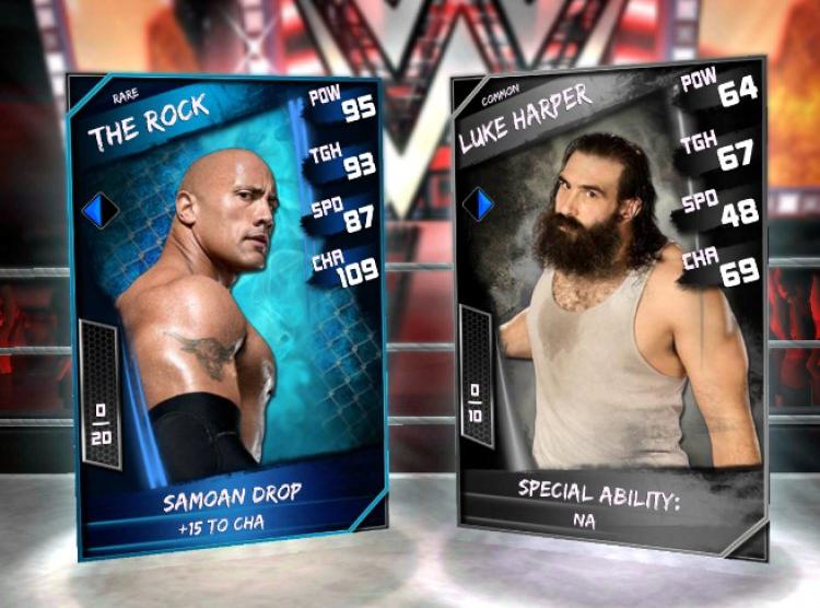 WWE SuperCard загрузили 1,5 млн раз