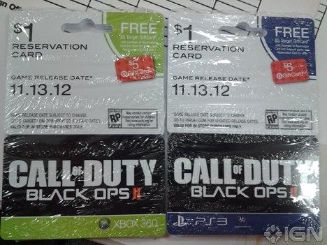 Американский магазин раскрыл дату выхода Black Ops 2