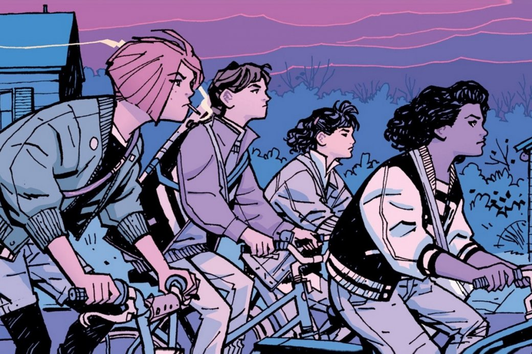 Нетак давно на30 выпуске завершилась серия комиксов про путешествия вовремени четырех разносчиц газет, которую захвалили критики. Чтоже вней особенного?