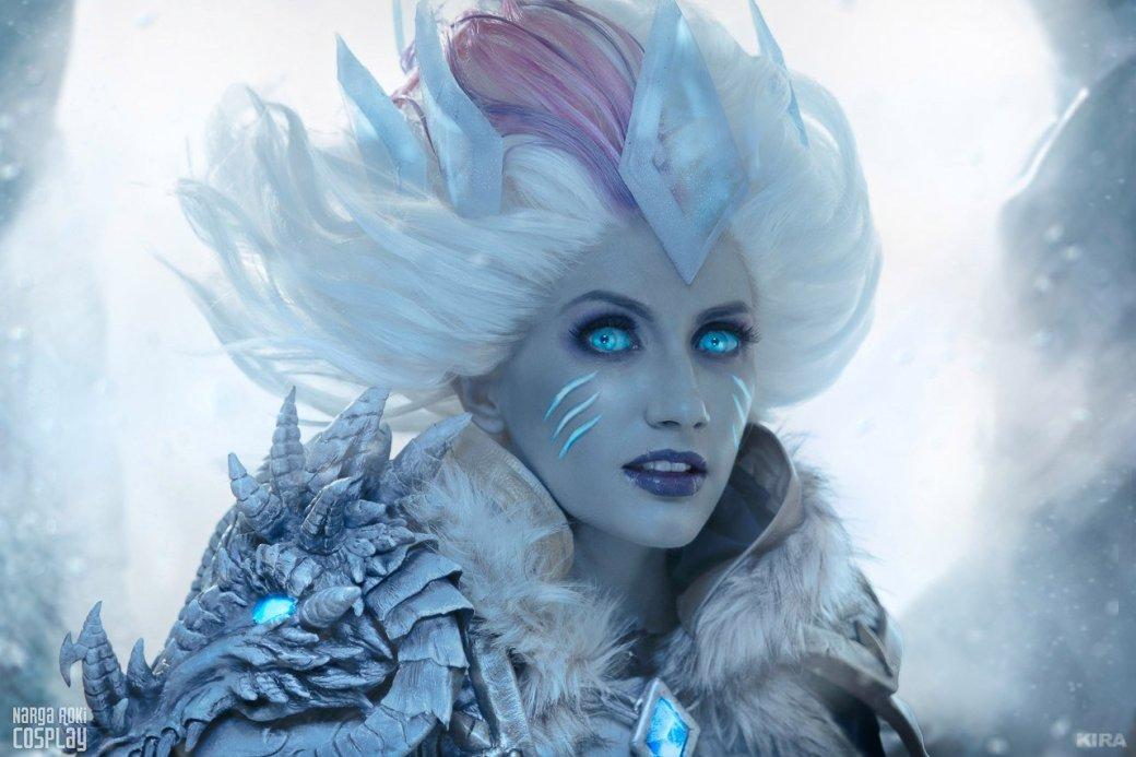 Косплей дня: Ледяной лич Джайна Праудмур изHearthstone