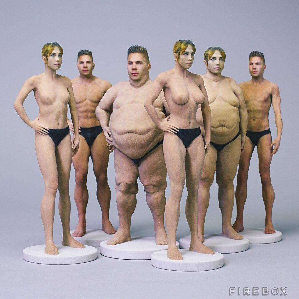 За $210 англичане изготовят омерзительно реалистичную голую модель