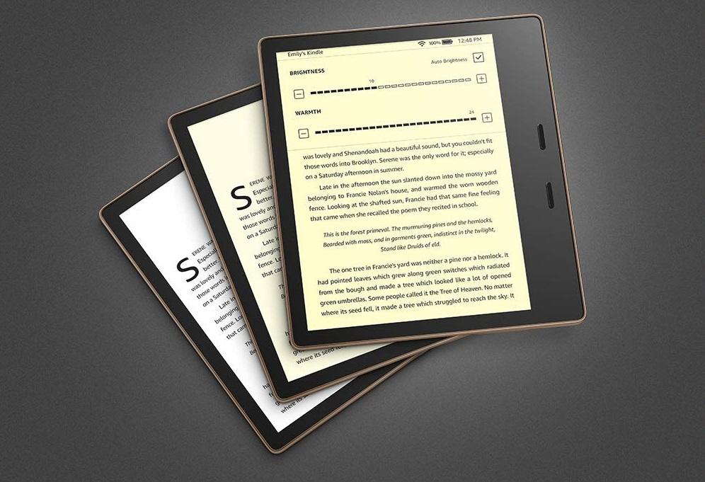 Amazon Kindle Oasis: обновленная электронная книга стала легче и быстрее предшественниц