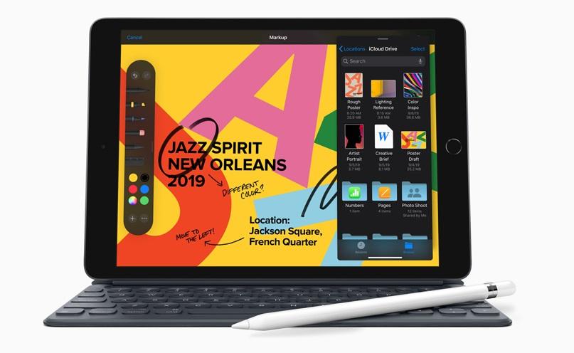 Презентация Apple: представили новый 10-дюймовый iPad иiPadOS