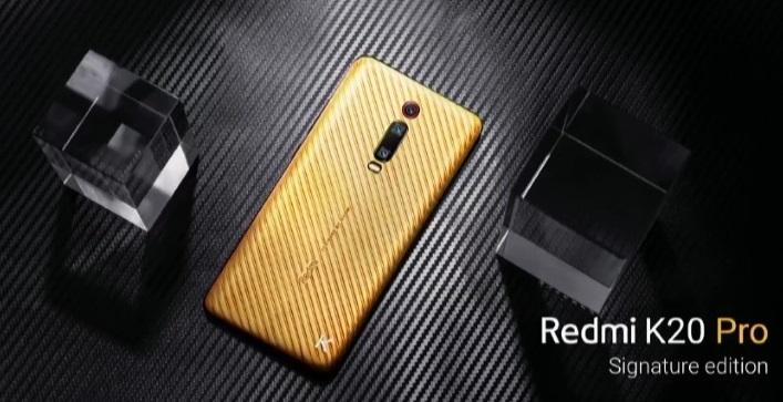 Xiaomi представила смартфон за$7000. Имстал Redmi K20 Pro Signature Edition