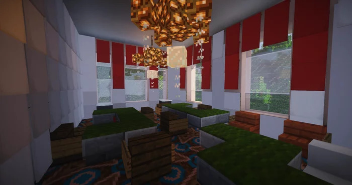 ВMinecraft построили «дворец Путина» вмасштабе 1:1