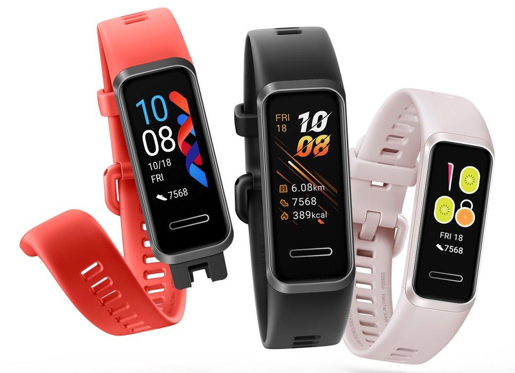 ВРоссию официально привезли фитнес-трекер Huawei Band4