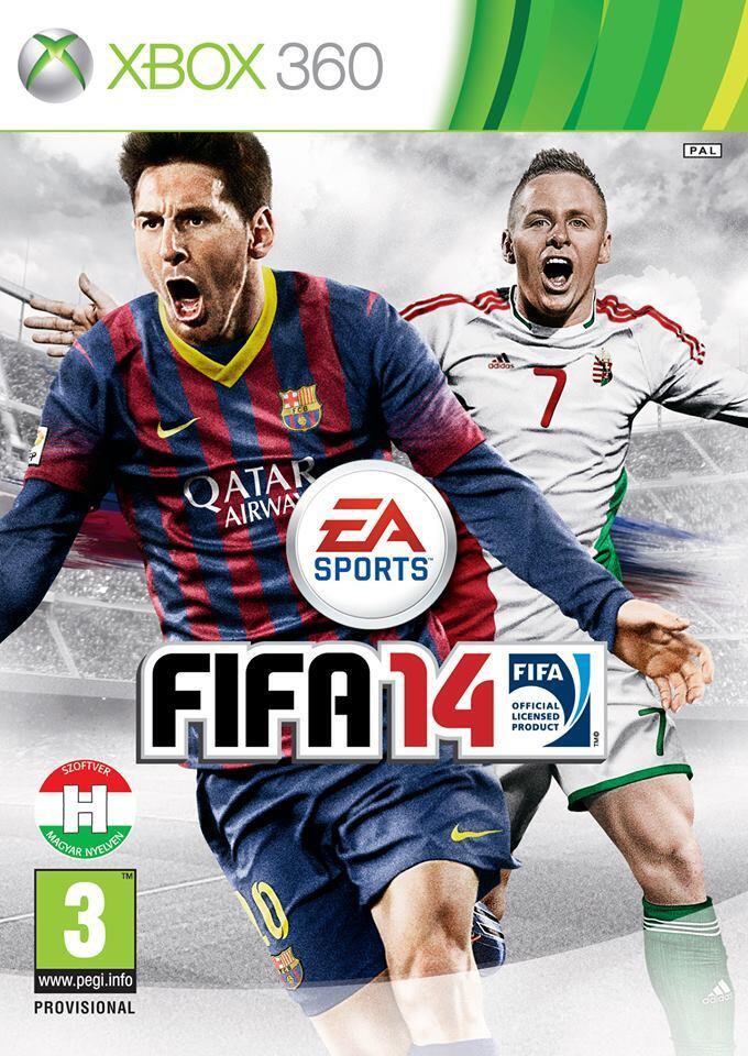 Венгерскую обложку FIFA 14 украсит игрок московского «Динамо»