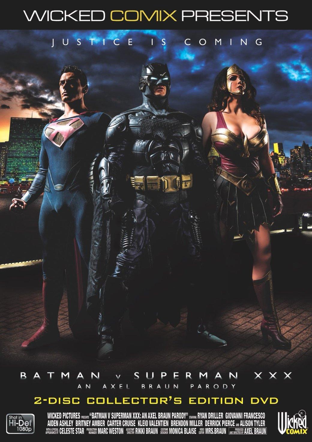 Топ-50 порнопародий. Часть3. «Железный человек», «Бэтмен», «Скуби-Ду» идругие