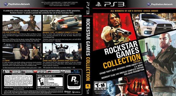 Rockstar выпустит коллекцию своих игр