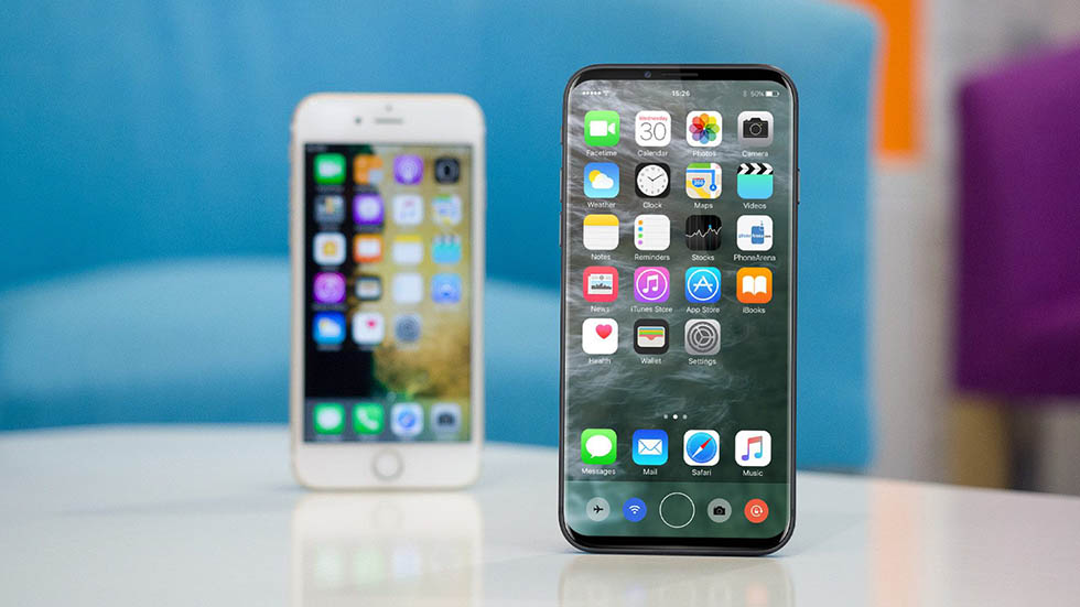 Слух: уiPhone 8 будет версия на512 Гб