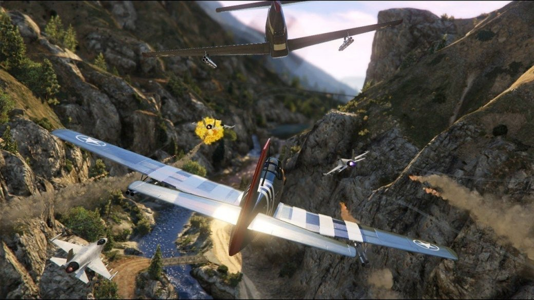 Отвинта! Обновление GTA Online добавит еще больше самолетов