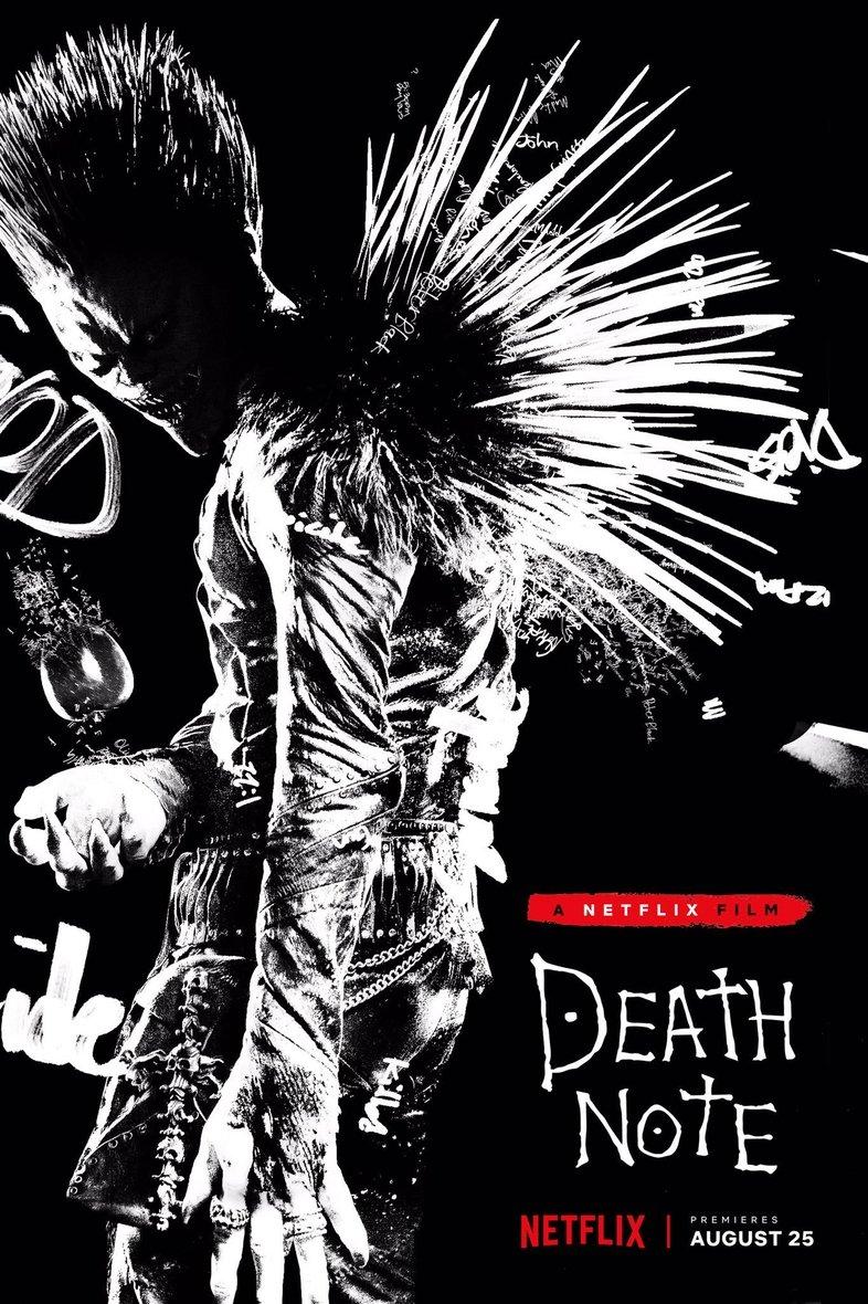 Постер «Тетради смерти» представил Рюка висполнении Уиллема Дефо